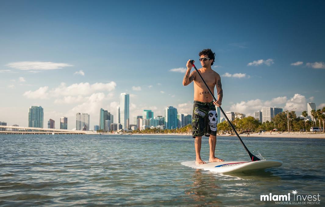 Surf à Miami