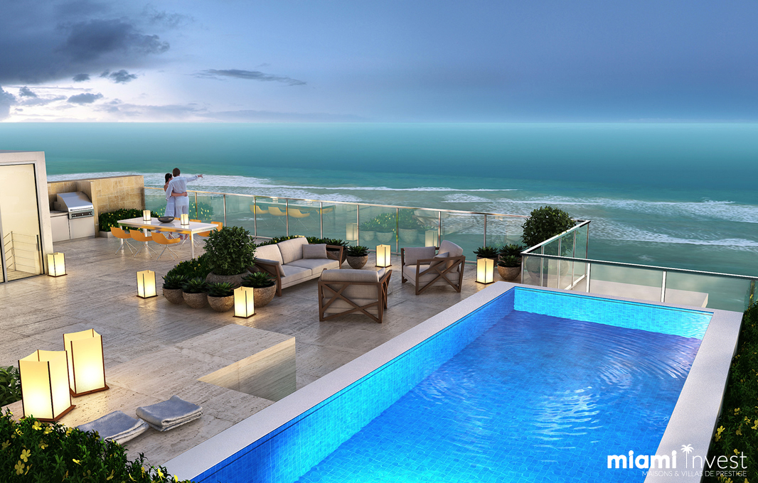 Rooftop à Miami