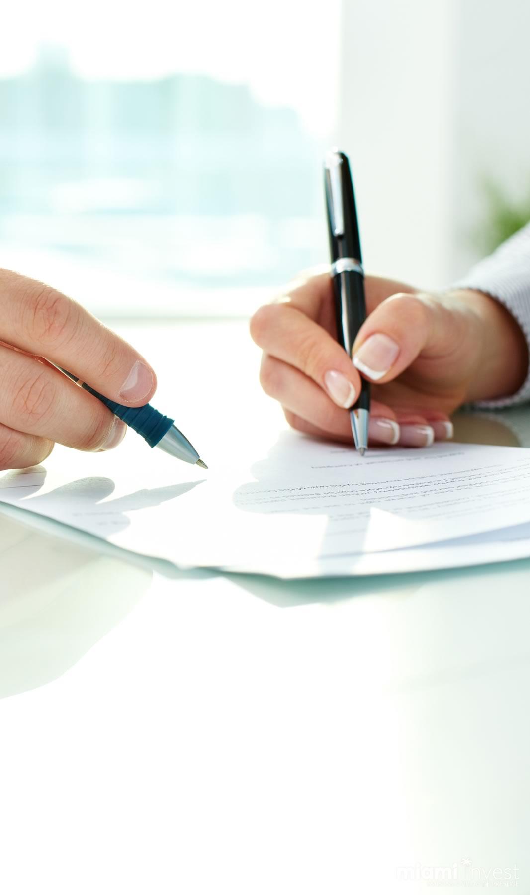 signature acquisition d'un bien immobilier