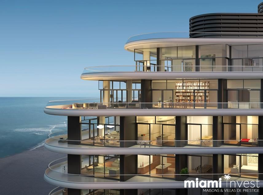 appartements penthouses de luxe vendre miami. Black Bedroom Furniture Sets. Home Design Ideas
